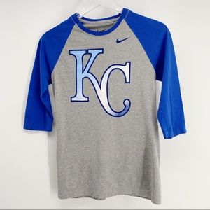Nike Women's KC Kansas City Baseball T Shirt Sz M